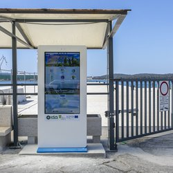 METRO project: Installation of interactive screens in Pula, Rabac and Poreč